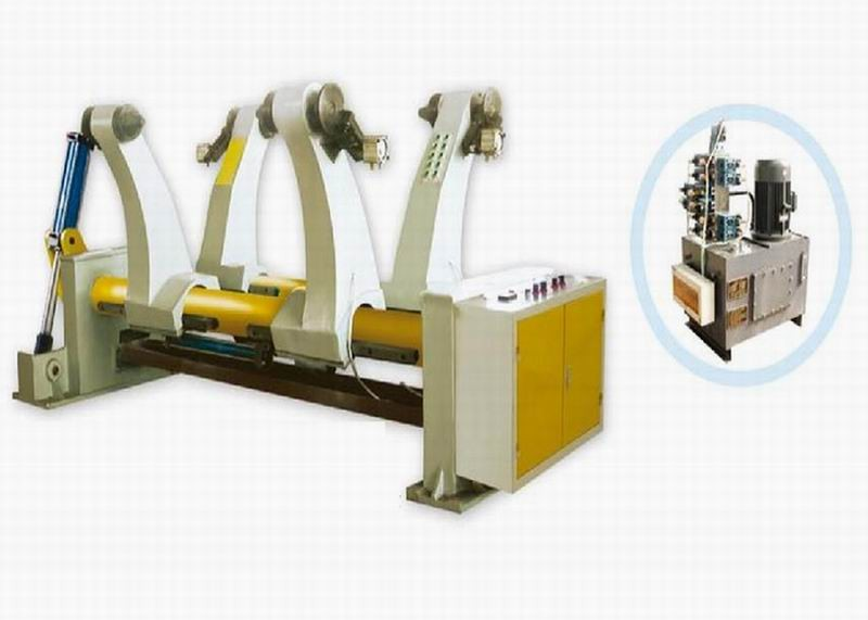 Corrugated cardboard hydraulic pressure mill roll stand/Corrugated cardboard production line/Carton box making machine prices