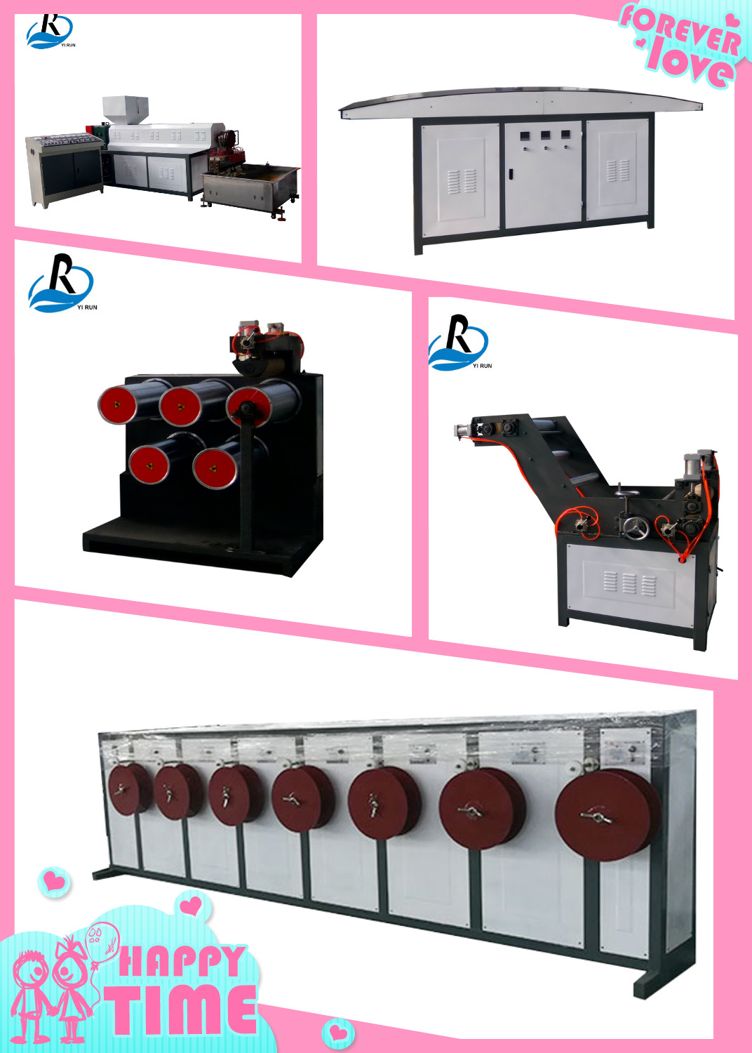 Outstanding quality automatic plastic net film baling strapping rope making machine film extrusion machine