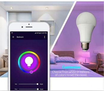 Best Selling Products 9W 10W 12W Led Bulb RGB+W+WW Lifx Smart Bulb