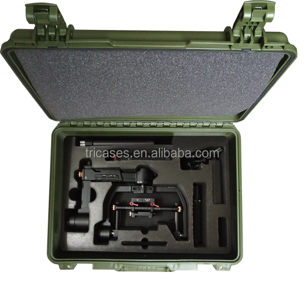 Military standard Tricases hard plastic waterproof portable professional dji Ronin M case