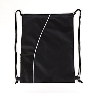 Colorful 2015 210D wholesale padded drawstring bag in xiamen