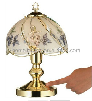 Tm 239 iris touch control table lamp glass buy touch lamptouch tm 239 iris touch control table lamp glass aloadofball Gallery