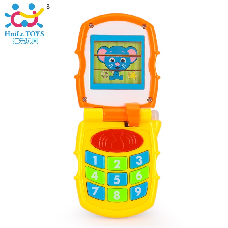 High quality huile toys plastic toy cell phone with ASTM