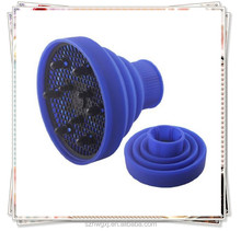 Silicone hair dryer diffuser for curly hair or wavy hair