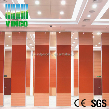 Acoustic Wooden Wall Panel Materials Partition Wall For Folding Wall  Systems Residential
