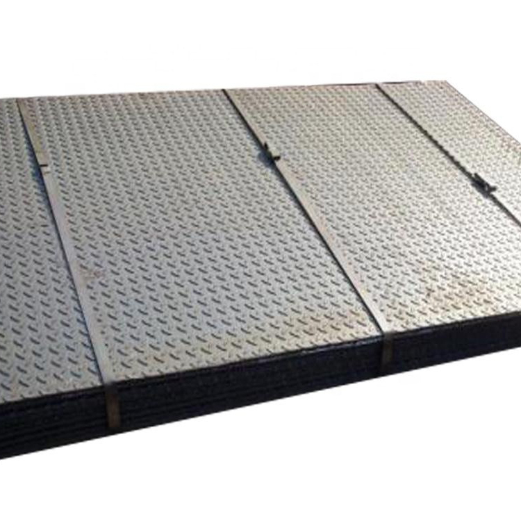 Factory Price Mild Steel Checkered Plates Hot Rolled Black Iron Sheet For Oil Project