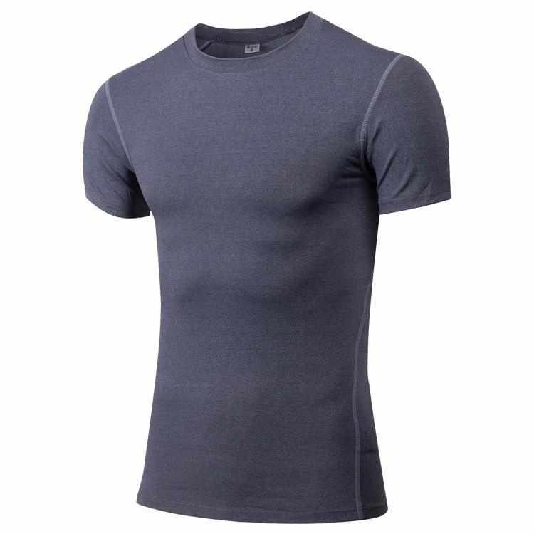 Men Oem Logo Sport Shirt Short Sleeve 3