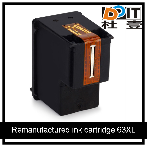 remanufactured ink cartridge 63XL replacement for HP 63 Black and Tri-color ink cartridge 2130 3630 4520 4560