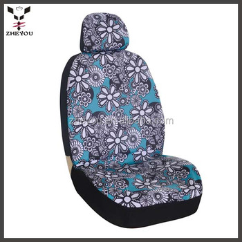 flower car seat protector bus seat covers accessories interior for women buy car seat. Black Bedroom Furniture Sets. Home Design Ideas