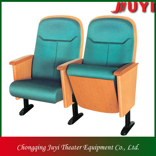 JY-915 factory price wholesale wooden armrest luxury theater seating chair theater seats removable
