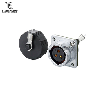IP65 male female waterproof dustproof plug socket Industrial connector
