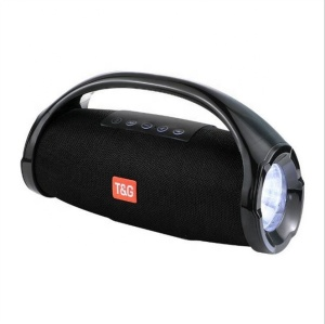 TOP selling FM Torch LED Light TG136 Outdoor Portable Stereo Speaker Boombox