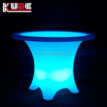 Unique En Plastique De Jardin Salon Éclairage Table,Patio Led Table Meubles  De Bar - Buy Table D\'éclairage De Salon,Table En Plastique De Jardin,Table  ...