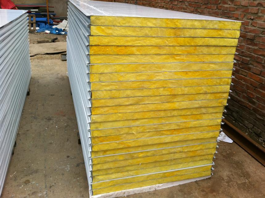 Rock Wool Sandwich Panel : High quality rock wool sandwich panel roof insulated