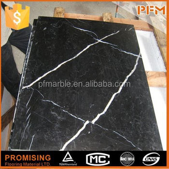 Fashionable Style Pakistan Black Gold Marble Flooring Design Buy