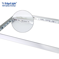 Edgelight high quality AD-EL-240750 white swith power supply 24V75W slim led driver for light box with UL certificate