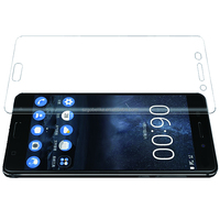 HD clear 2.5D tempered glass screen protector guard for Nokia 3 and 5