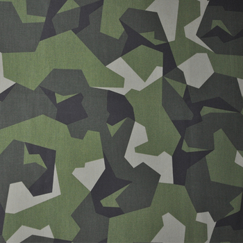 Xinke Protective 210gsm 100 cotton camo canvas waterproof fabric