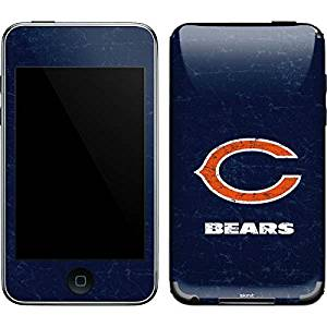 NFL Chicago Bears iPod Touch (2nd & 3rd Gen) Skin - Chicago Bears Distressed Vinyl Decal Skin For Your iPod Touch (2nd & 3rd Gen)