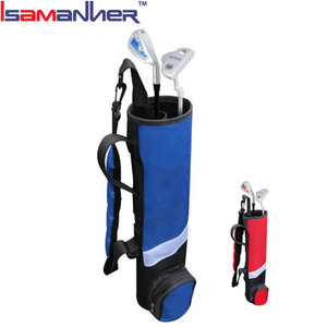 Custom golf bag cover for protecting clubs, outdoor kids junior golf gun bag