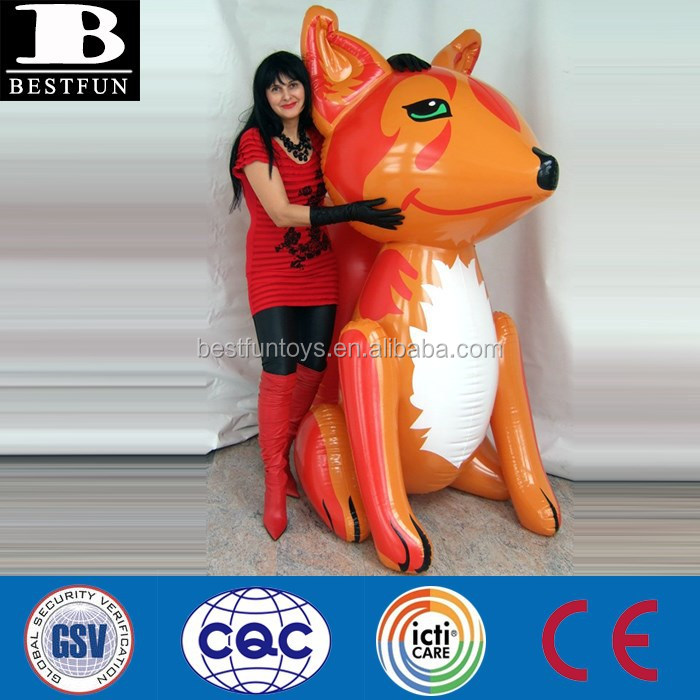 China Supply Big Pvc Inflatable Fox Toys Giant Inflatable Animals Toys  Display   Buy Pvc Inflatable Fox Toys,Yard Decoration Inflatable Big  Animals Display ...
