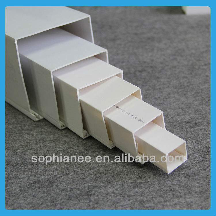 Electrical Full Size Pvc square pipe