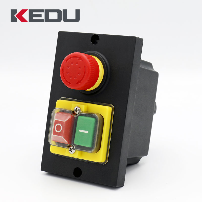 400 V Main Commutateur Moteur Commutateur Kedu kjd18 Built-In commutateur up to 3 kW 3 s
