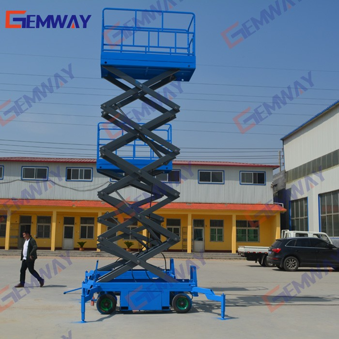 Mobile 15m Scissor Lift, Mobile 15m Scissor Lift Suppliers and ...
