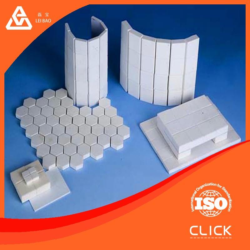 Antique Terracotta Ceramic High Alumina Lining Brick For Grinding ...