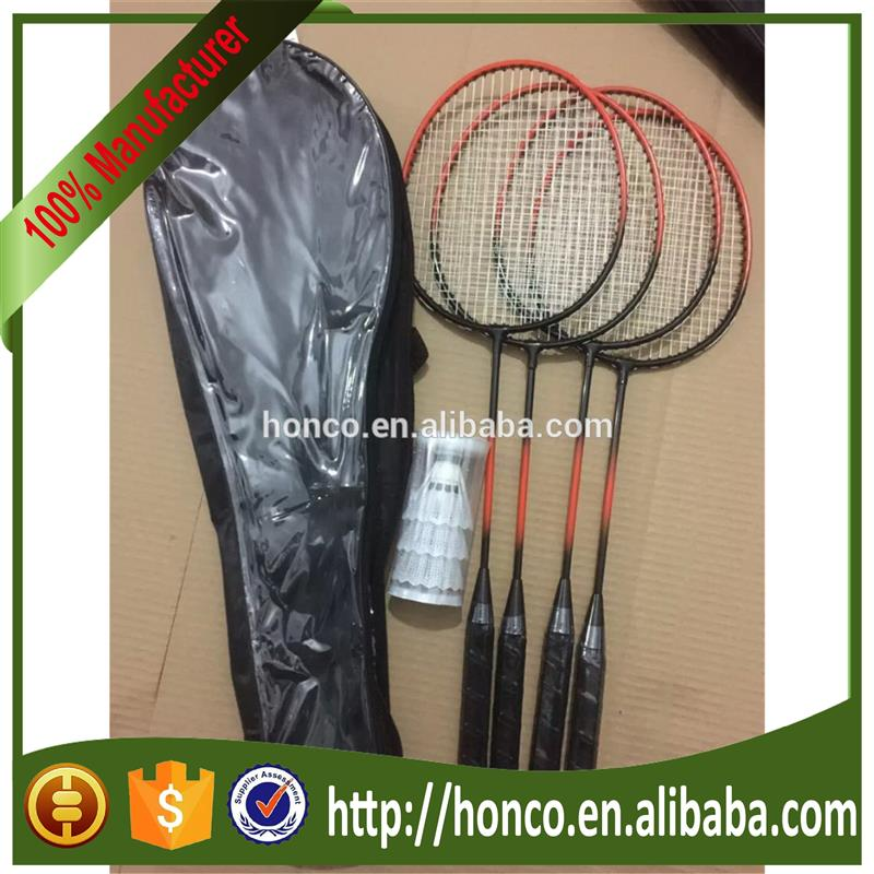 Brand new top badminton rackets with high quality 40mm,38mm