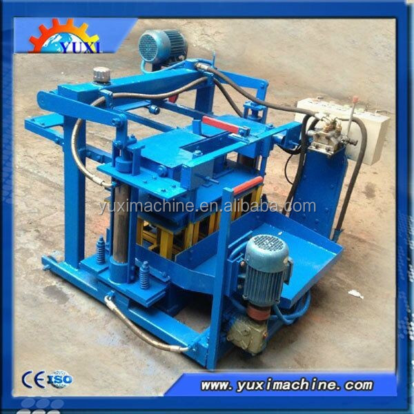 All over the world widely used of semi automatic hollow concrete block machine with Alibaba trade assurance