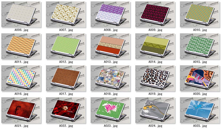 Custom Keyboard Stickers Tablet Full Body Skin For Toshiba Laptops ...