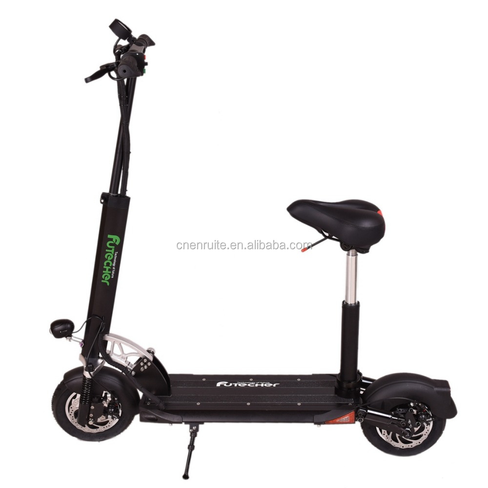Children Portable CE&ROHS Smart Kick Electric Scooter Moped front and Rear Double suspension Specification Highper