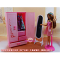 MiniatureFurniture Wardrobe for Barbie Doll House Best Gift Toys for Girl Free Shipping