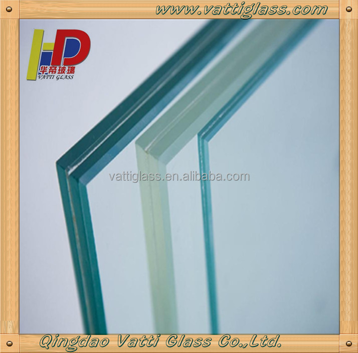 6mm Thick Laminated Frosted Glass Translucent Pvb