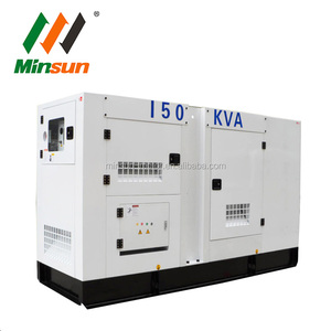 LOVOL 150kva generator prices 120kw genset with shell