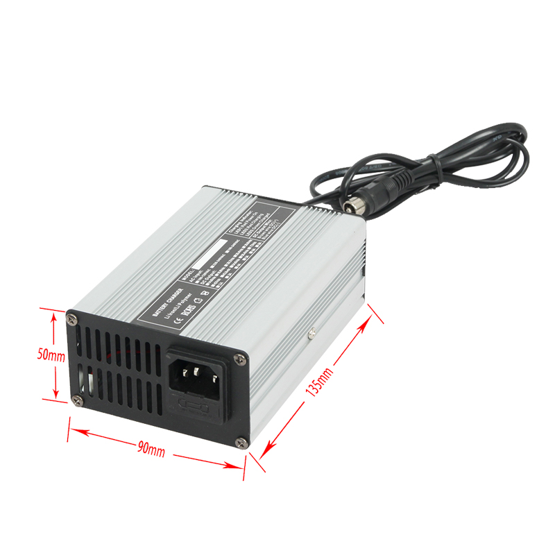 60 volt 120w battery charger aluminium shell car battery charger