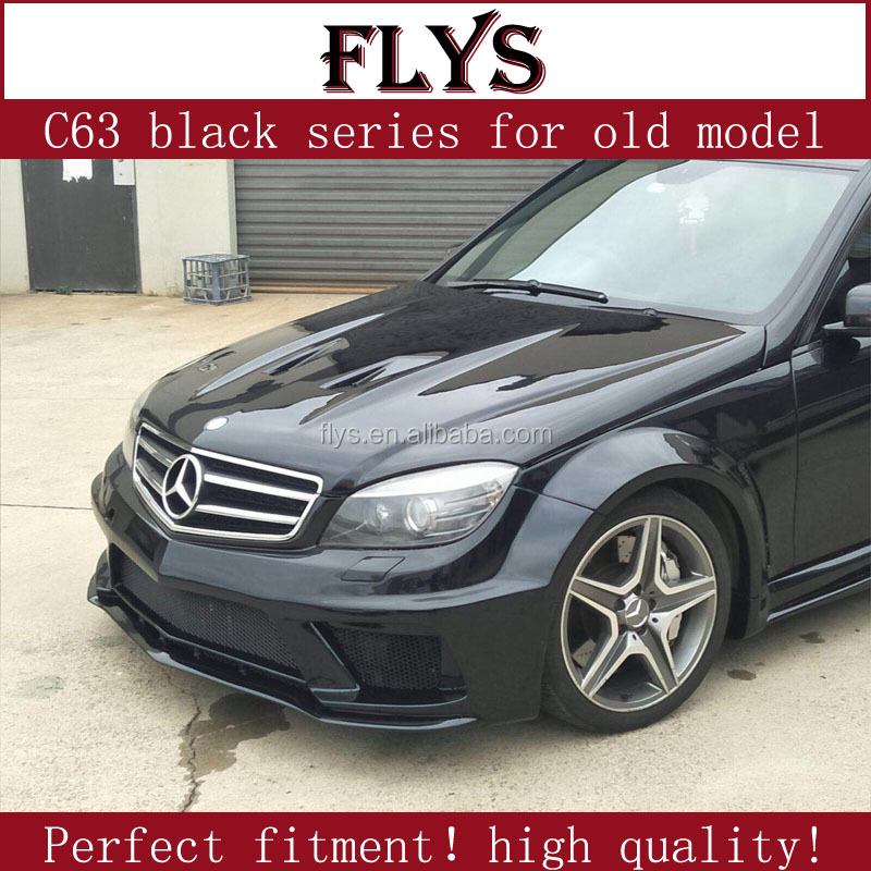 Serie body kit per W204 C63 nero 2008-2010