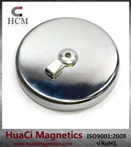Magnetic Hook with 25 LB(11kg) Holding Power Low Profile Small Hook