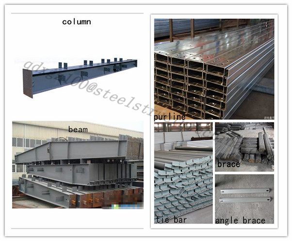modular steel building beam,column