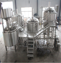 Craft Beer Brewery Equipments of 25BBL Brewhouse Mash Tun and 50 BBL Fermenter