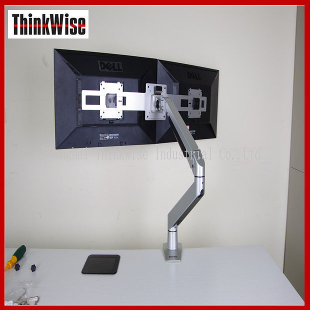 lcd arm factory high quality manual adjustable tablet stand