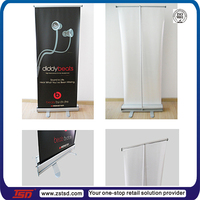 TSD-B004 China factory Promotion Roll up Banner,advertising roll up stand,Retractable banner stand
