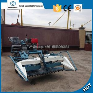 2018 China good performance Self-propelled new wheat and corn straw reaper