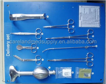 High Clss Cs Cesarean Section Surgical Instruments Set For ...