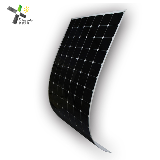 High efficiency Sunpower solar cell 12v 24v 36v marine flexible solar panel 300w