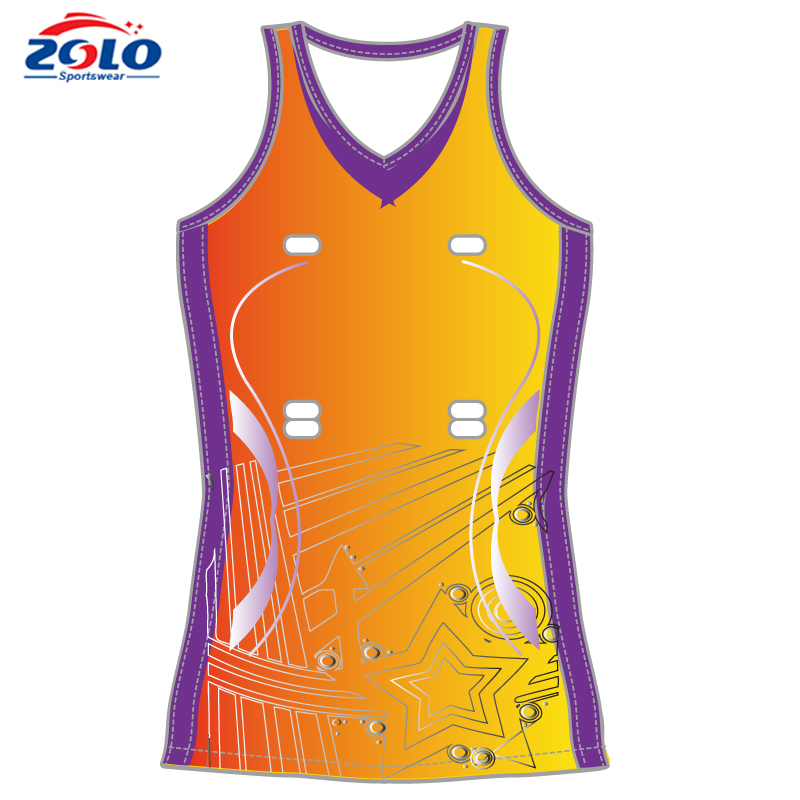 Manufacturer small orders of sexy netball dress