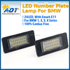2x 18 led Canbus No error License Plate Lamp For 5 Series E39 For 1 Series E82 E88 3 Series E90 E90N E91 E92 E93 With Emark E11