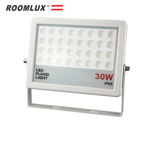 Slim glass 50w IP65 led floodlight 20watt for outdoor