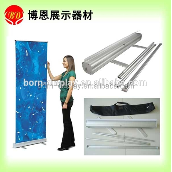 2014 Fashion Cheap Two Aluminum Material Foot Telecopic Pole Profile M-3 Economical Roll Up 85CM
